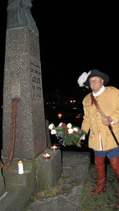 Bekransning v/Arne Rønningen